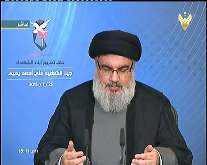 السيد نصرالله: أكبر أجهزة المخابرات في العالم واهمة أن كانت تصدق بأنها قادرة على السيطرة على الجماعات التكفيرية