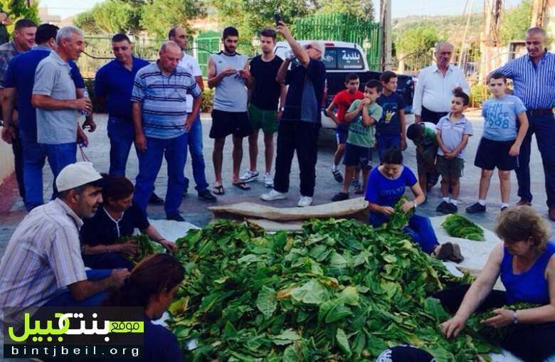 الريجي تنظم مباراة في شك التبغ في رميش