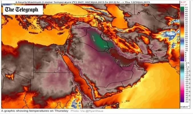 ماذا يحمل طقس بداية الأسبوع بعد موجة الحر التي تضرب لبنان؟
