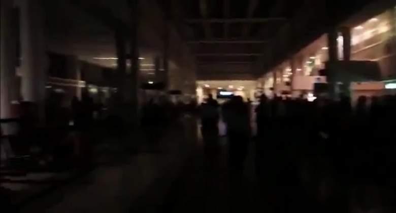 بالفيديو/  في سابقة لم تحدث .. هكذا بدا مطار رفيق الحريري الدولي من دون كهرباء!!