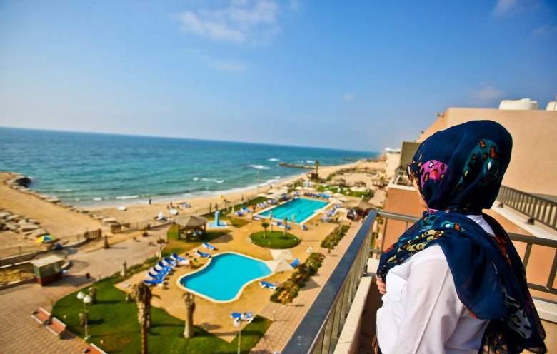 منتجع في غزة يثير عاصفة في الصحافة العبرية