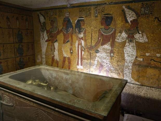 اكتشاف جديد في مقبرة توت عنخ أمون
