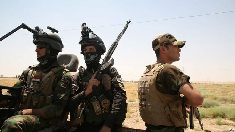 القوات الأمنية العراقية تُطَهِر منطقة المضيق شرقي الرمادي بالكامل