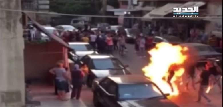بالفيديو: في لبنان.. زفاف كاد ان يتحول إلى مأساة مؤلمة!