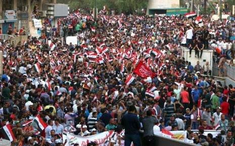العراق   3 إصلاحات جديدة للعبادي وتفويض من المرجعية/  الصدريون يتظاهرون ضد... المالكي