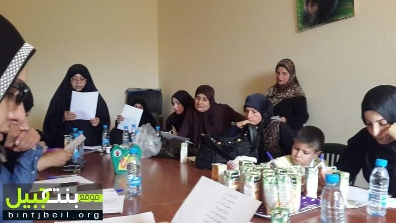 دورة خدام المنبر الحسيني في المنطقة السابعة في حركة امل بنت جبيل