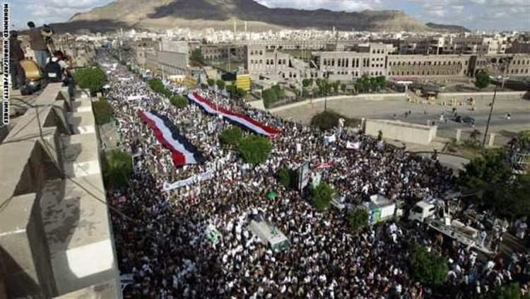 السعودية تمنع اليمنيين من أداء فريضة الحج لهذا العام! واليمنيون يتظاهرون بملابس الإحرام