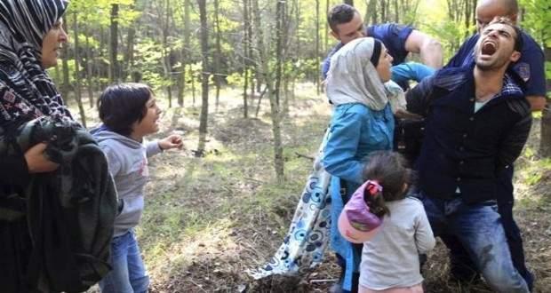 المجر احتجزت 16 مهاجرا لعبورهم الحدود بشكل غير قانوني