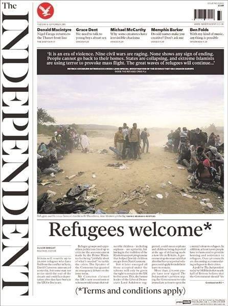 لاجئون أم مهاجرون؟ الإعلام الأوروبي منقسم
