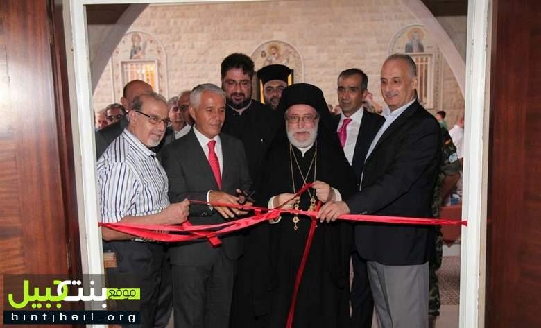 جمعية أغصان تنظم معرضا للوحات قروية وفنية لبلدة دير ميماس