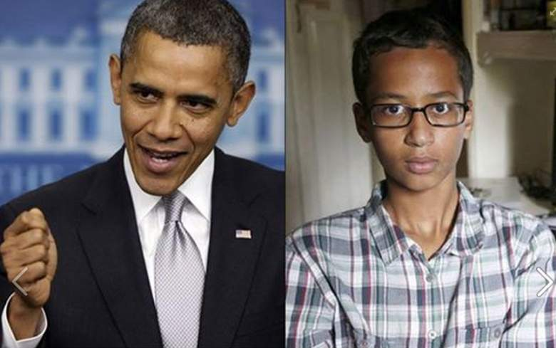 أوباما للطفل المسلم صانع الساعة: إنها رائعة أمثالك يجعلون أمريكا بلدا عظيما