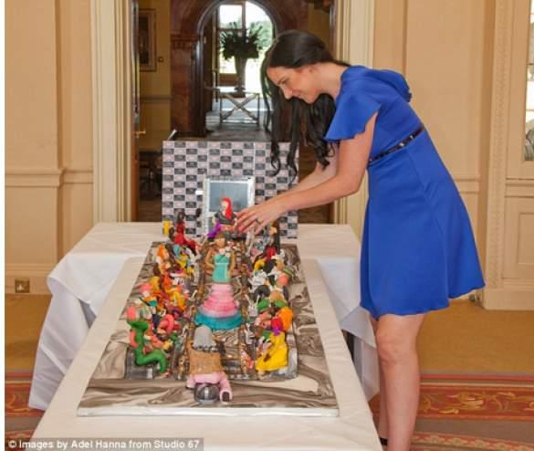 أسرة عربية تنفق 75 مليون دولار على أغلى كعكة في العالم