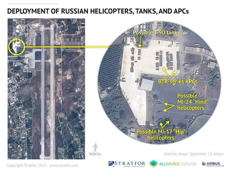 «ستراتفور» ينشر صوراً لتعزيزات روسية في اللاذقية
