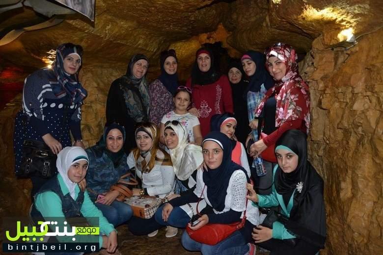 برعاية ودعم من بلدية بنت جبيل رحلة ترفيهية للأخوات إلى منطقة بعقلين