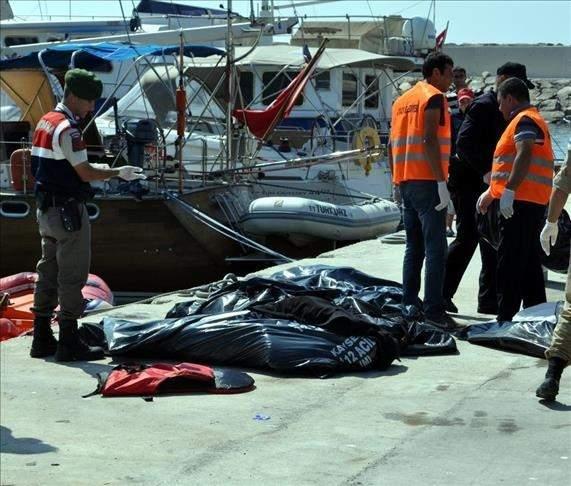 مصرع 13 شخصًا في غرق قارب قبالة السواحل التركية