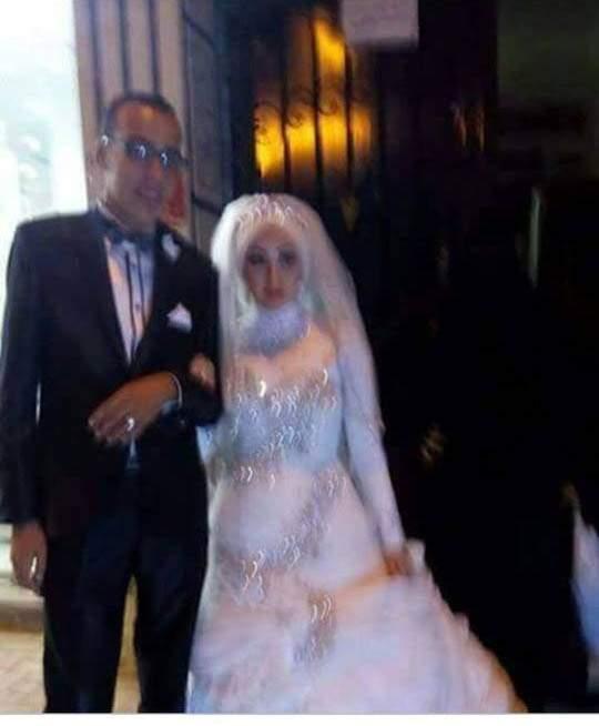 بالصور.. مصرع عروسين قبل لحظات من حفل الزفاف