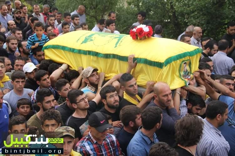 بلدة عين بوسوار تشيّع شهيدها المجاهد حسين علي كركي