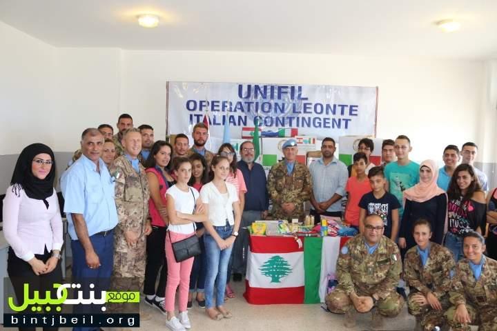 حوار طلابي إيطالي -  لبناني في علما الشعب