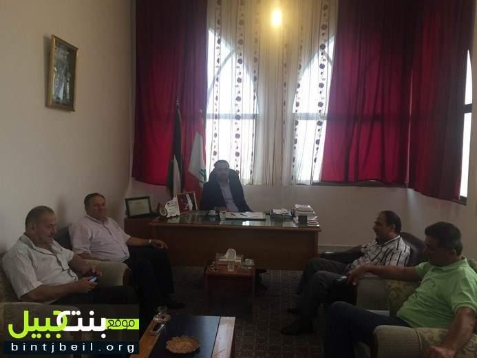 جبهة التحرير الفلسطينية التقت حركة امل