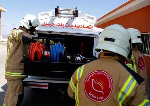 مهام فوج اطفاء برعشيت التابع لاتحاد بلديات قضاء بنت جبيل خلال خلال شهر ايلول