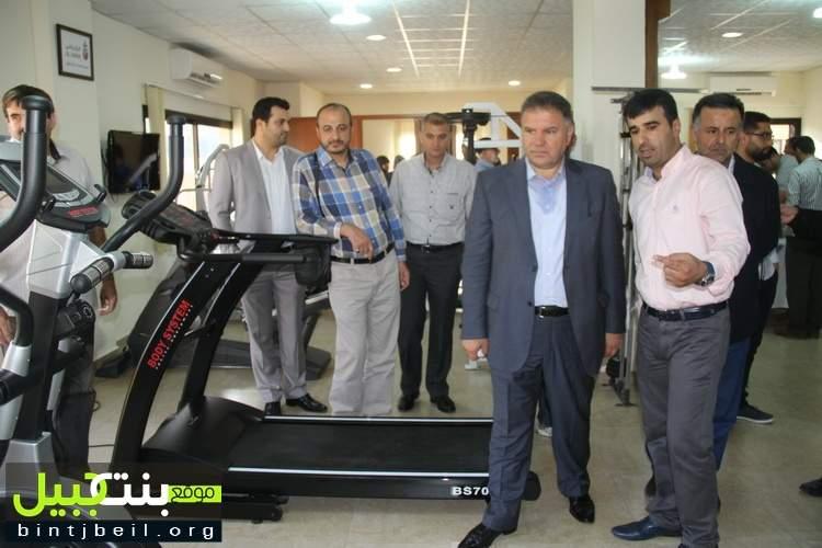 افتتاح مركز العباس للعلاج الفيزيائي في النبطية