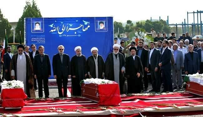 اعادة جثامين 114 ايرانيا قضوا في منى الى طهران