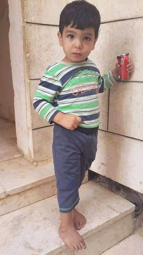 الإحتلال الإسرائيلي يحاول اعتقال طفل في الثالثة بحجة إلقاء الحجارة!
