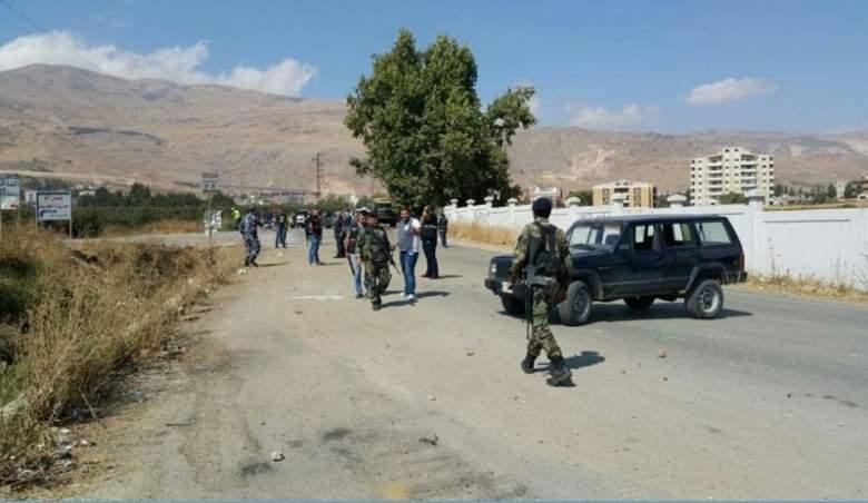 صقر كلف الشرطة العسكرية التحقيق بانفجار شتورا