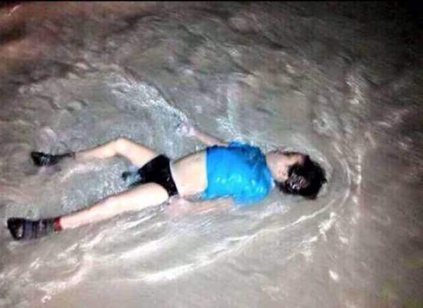 بعد إيلان...جثتا طفل ورضيع سوريين على شاطئ يوناني!