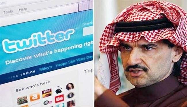 الوليد بن طلال يرفع حصته بتويتر لـ3 مليارات و750 مليون ريال