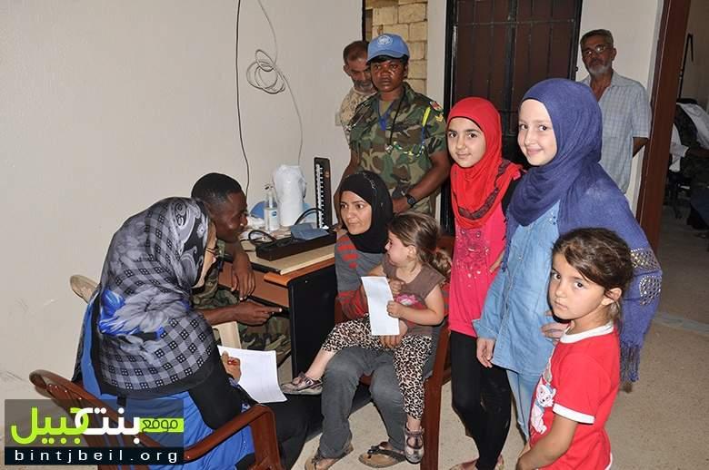 حملات طبية لليونيفيل الغانية في جنوب لبنان