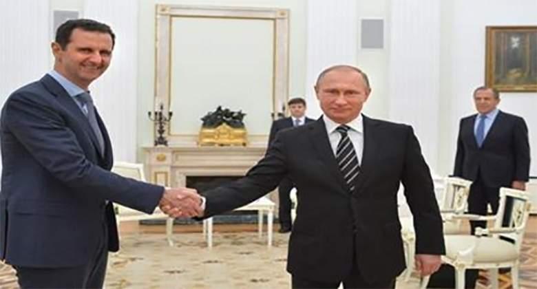 الرئيس الأسد يزور موسكو ويجري مباحثات مع بوتين + فيديو