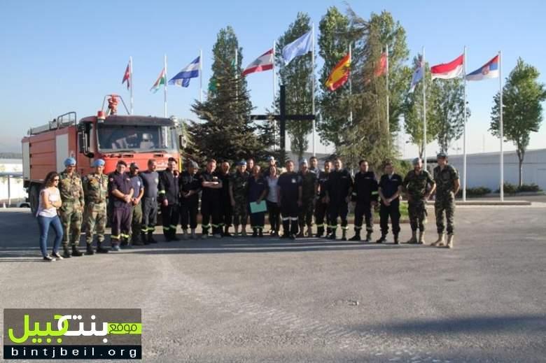 الكتيبة الاسبانية تقيم دورات تدريبية لعناصر الدفاع المدني اللبناني في مرجعيون