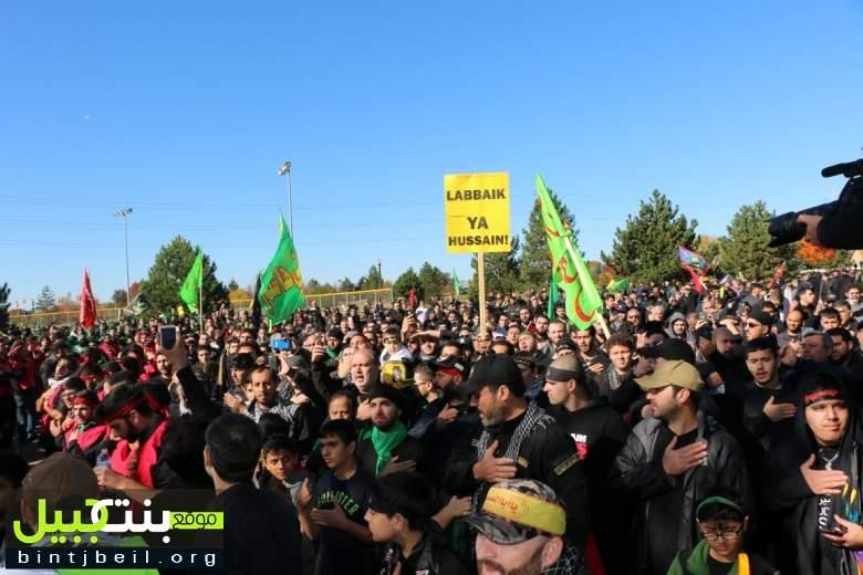 تقرير مصور من المسيرة العاشورائية التي اقيمت في مدينة ديربورن الأمريكية بمشاركة حاشدة من ابناء الجالية اللبنانية