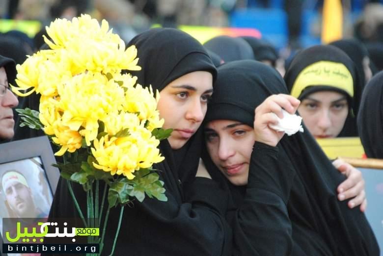 مسيرة عاشورائية حاشدة لحزب الله في النبطية تخللها تشييع 3 شهداء