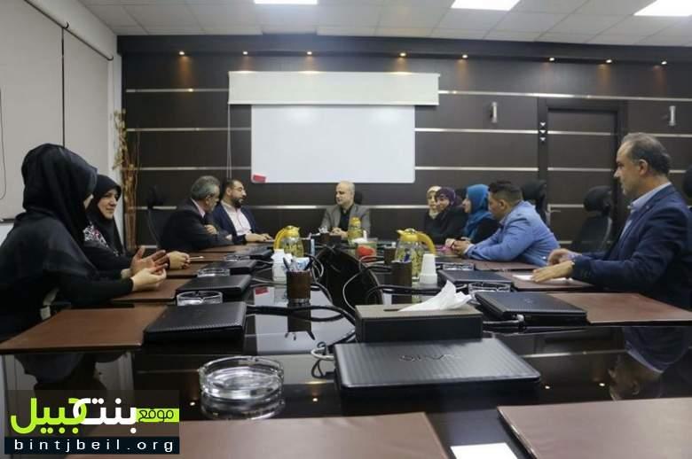 جمعية حواس تزور مبنى قناة المنار