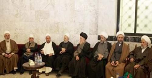 تجمع علماء جبل عامل يعزي بالعلامة السيد حيدر الحسني