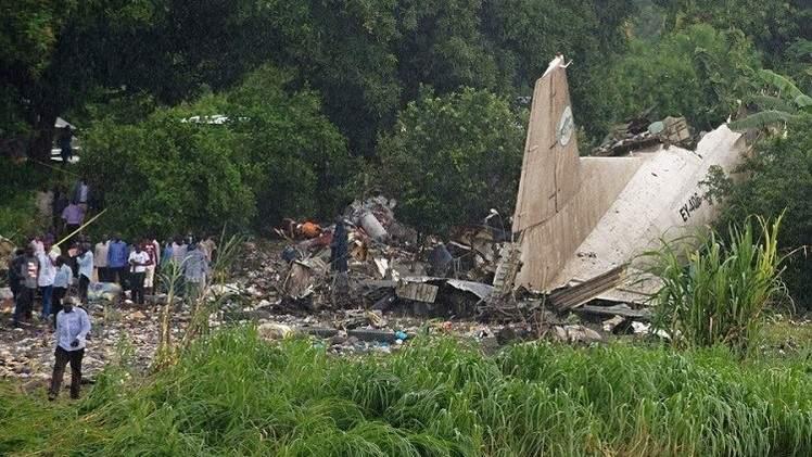 41 قتيلا بحادث تحطم طائرة شحن طاقمها روسي في عاصمة جنوب السودان