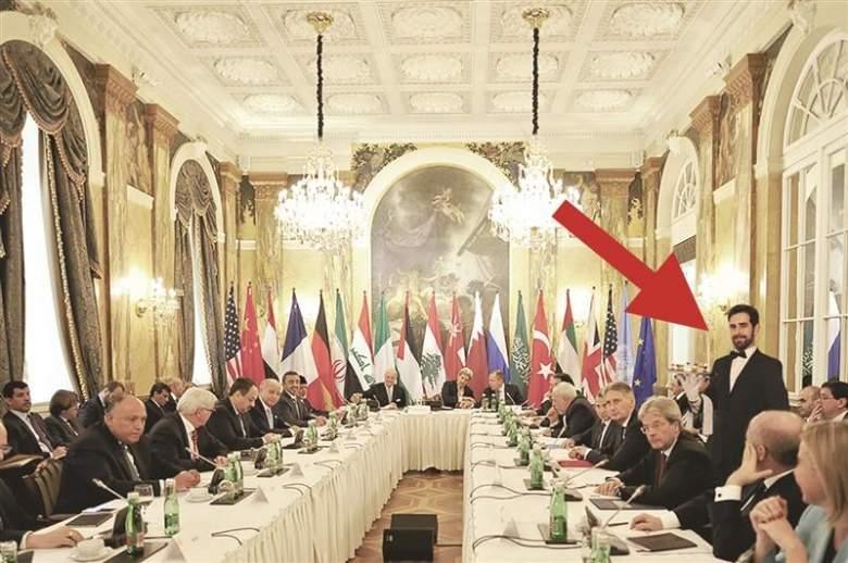 «السوري الوحيد» في اجتماع فيينا... «فوتوشوب»
