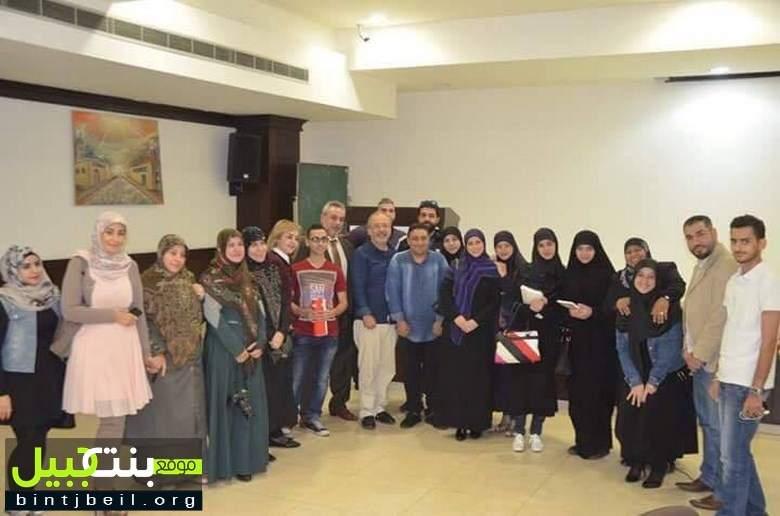 جمعيّة حواس تلتقي نائب رئيس تحرير جريدة الاخبار الأستاذ بيار أبي صعب