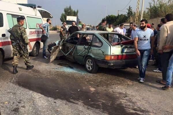 جرحى أحدهم في حالة خطرة نتيجة حادث سير مروع في صيدا