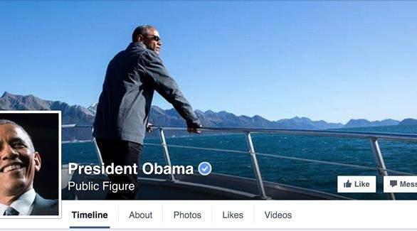 أوباما ينضمّ رسميًا إلى الـ«فايسبوك»