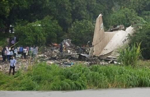العثور على الصندوقين الاسودين لطائرة الشحن التي سقطت في جنوب السودان