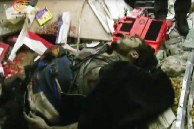 بالفيديو/ الإنتحاري الثالث الذي لم ينفجر