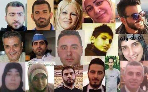بالصور والأسماء: هؤلاء هم شهداء العملية الإرهابية في برج البراجنة