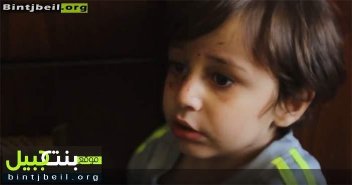 موقع بنت جبيل يلتقي الطفل حيدر الذي أصيب وفقد والديه في تفجير برج البراجنة