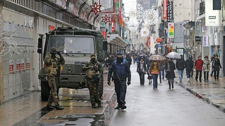 العثور على أسلحة بمنزل أحد المعتقلين ببلجيكا ورفع حالة التأهب لدرجة قصوى