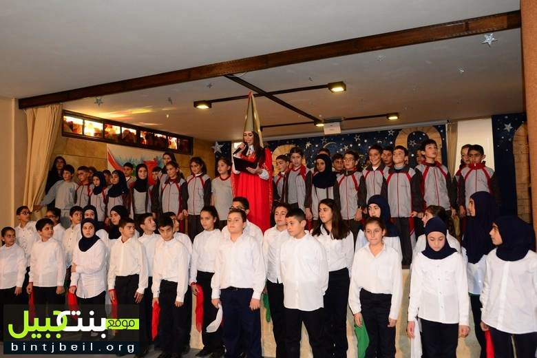 مدرسة سيّدة البشارة في رميش أحيت عيد الإستقلال باحتفال حاشد