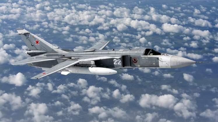 شاهد لحظة إسقاط_الطائرة_الروسية_الحربية في أجواء #سوريا