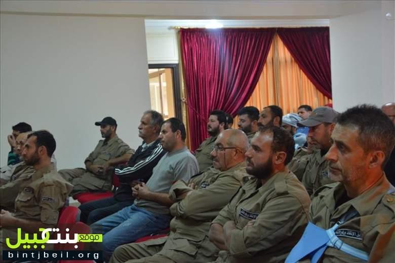 إدارة اماكن النزوح والمساندة النفسية للنازحين: برنامج إرشادي برعاية بلدية بنت جبيل